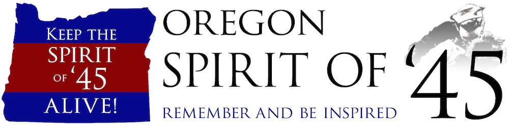 Oregon Spirit of 45 Retina Logo